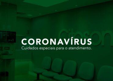 Coronavírus: Cuidados especiais para o atendimento